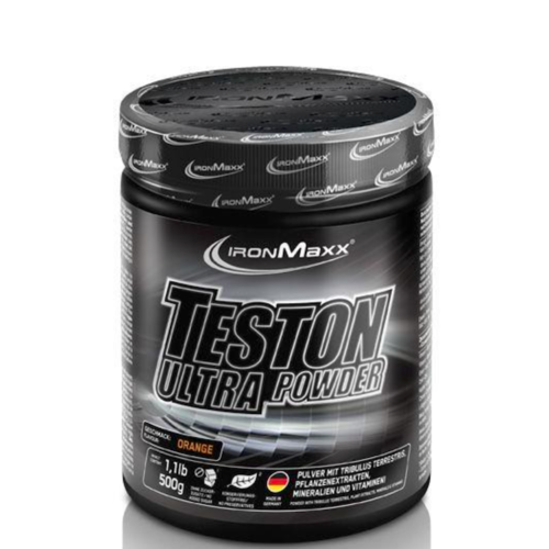 IRONMAXX Teston Ultra Powder 500g Dose Orange