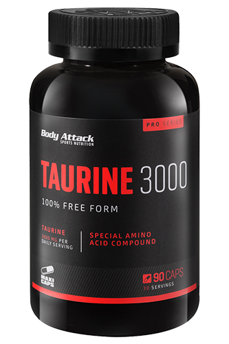 Body Attack Taurine 3000 90 Caps