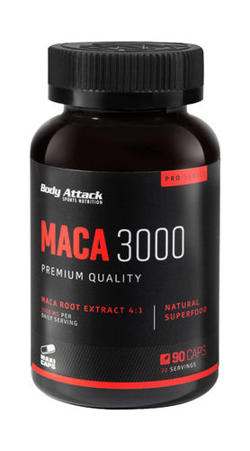 Body Attack Maca 3000 90 Caps