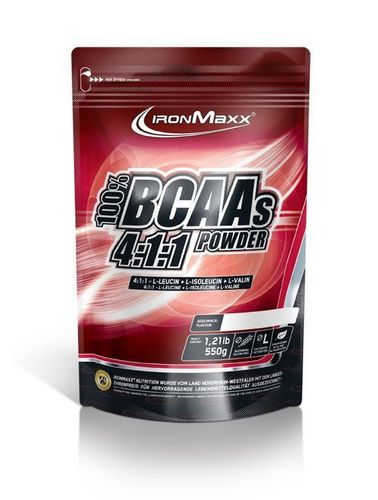IRONMAXX BCAA 4:1:1 Powder 550g Beutel