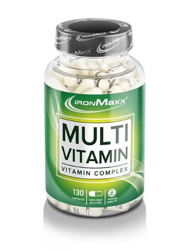 IRONMAXX Multivitamin 130 Caps