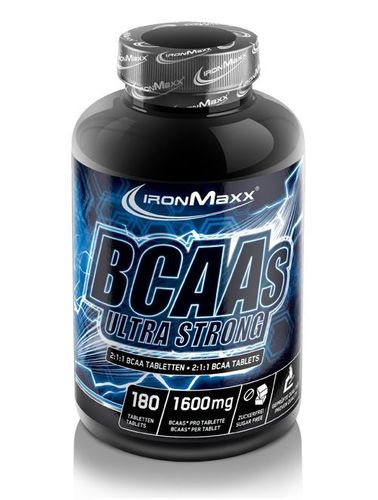 IRONMAXX BCAA'S Ultra Strong 2:1:1 180 Tabs