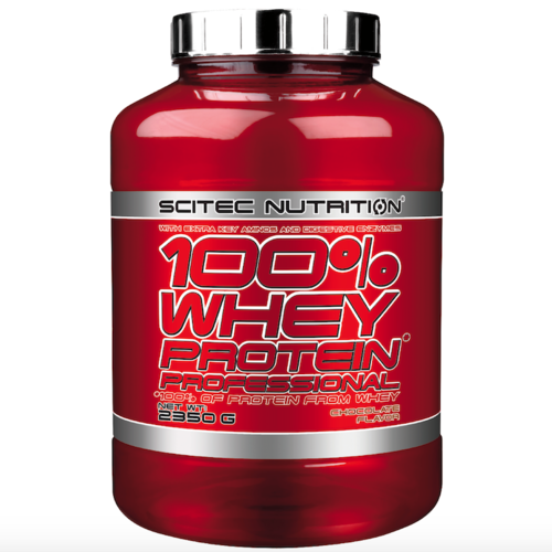SCITEC NUTRITION 100% Whey Protein Professional 2350g Dose