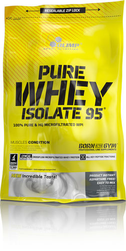 OLIMP Pure Whey Isolate 95 600g Beutel