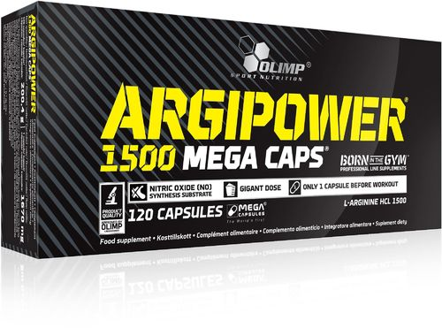 OLIMP Argi Power 1500 Mega Caps 120 Caps