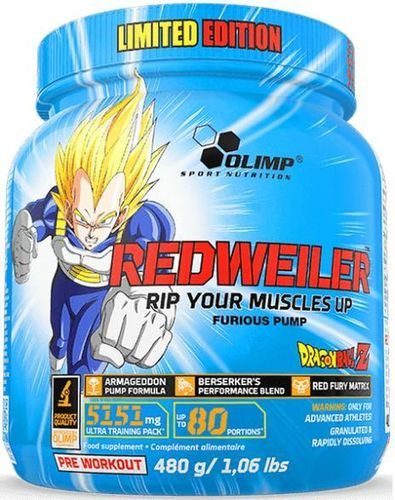 Olimp Redweiler Dragon Ball Z 480g Dose