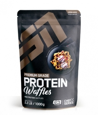 ESN Protein Waffles 1000g Beutel